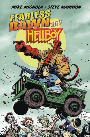 Fearless Dawn Meets Hellboy (Mannion Cover)