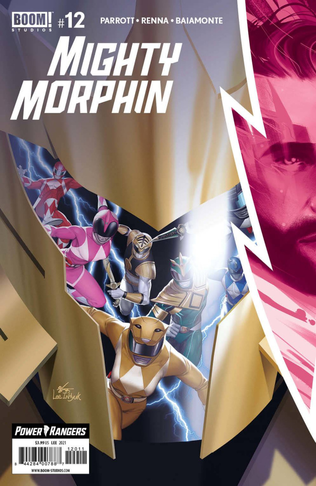 Mighty Morphin #12 (Lee Cover)