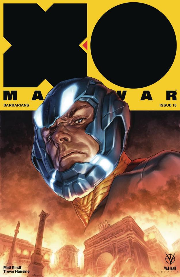 X-O Manowar #18 (Larosa Cover)