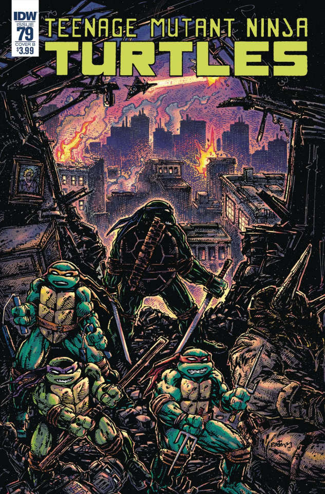 Teenage Mutant Ninja Turtles #79 (Eastman Cover)