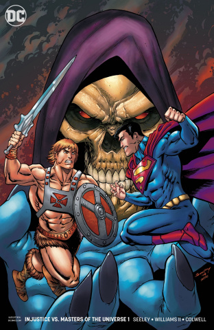 Injustice vs. The Masters of the Universe #1 (Variant Cover)