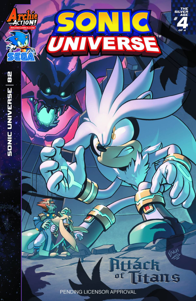 Sonic Universe #82 (Yardley Cover)