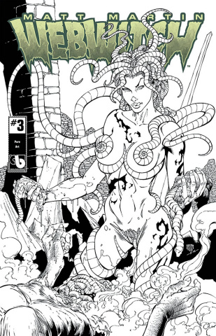 Webwitch #3 (Pure Art Cover)