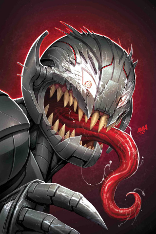 Champions #12 (Venomized Ultron Cover)