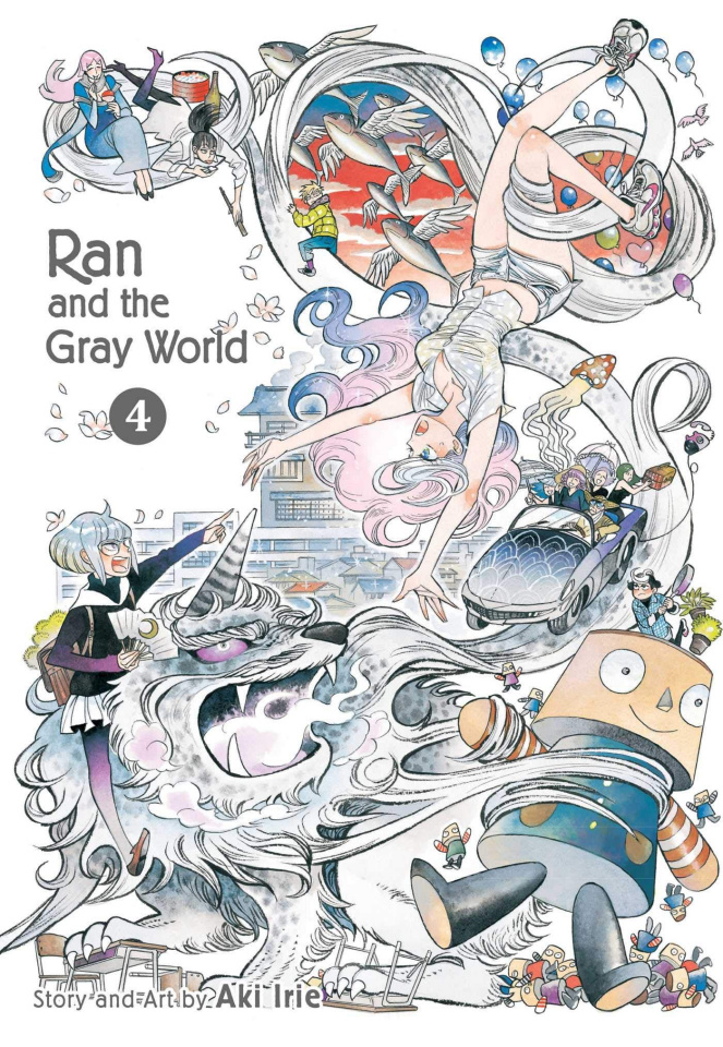 Ran and the Gray World Vol. 4