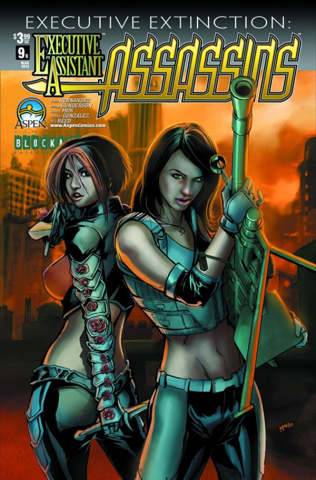 Executive Assistant: Assassins #9 (Mhan Cover)