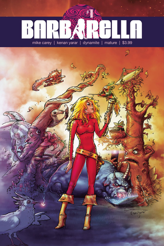 Barbarella #1 (Yarar Cover)