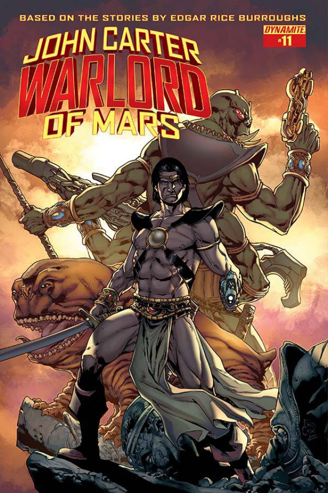 John Carter: Warlord of Mars #11 (Casas Cover)