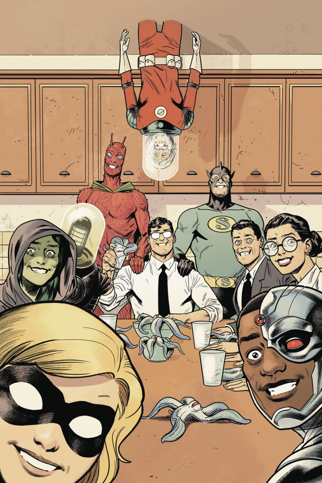 Black Hammer / Justice League #3 (Shaner Cover)