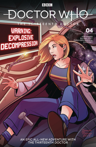 Doctor Who: The Thirteenth Doctor #4 (Zanfardino Cover)