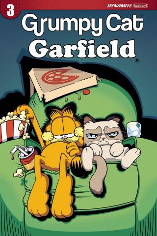 Grumpy Cat / Garfield #3 (Hirsch Cover)