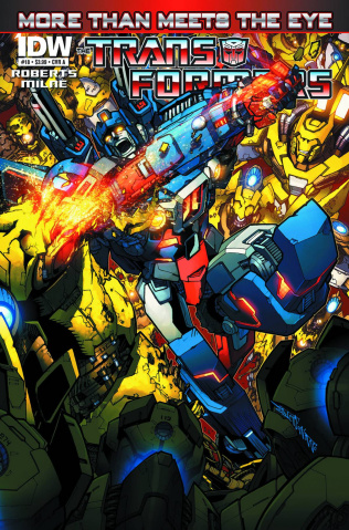 The Transformers: More Than Meets the Eye #18 (10 Copy Cover)