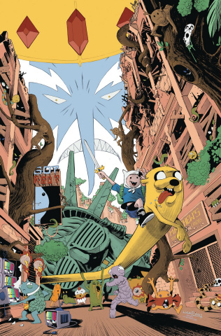 Adventure Time Comics #18 (Subscription Pizarri Cover)