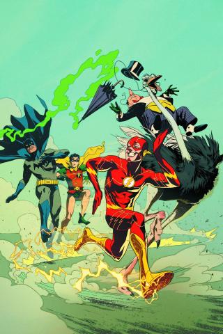 Detective Comics #38 (Flash Cover)