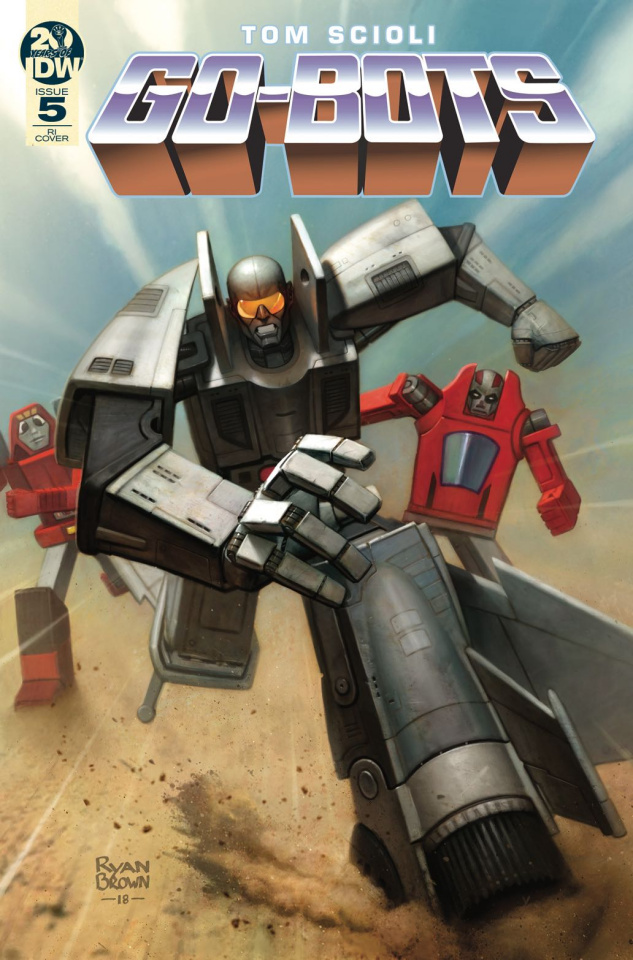 Go-Bots #5 (10 Copy Brown Cover)
