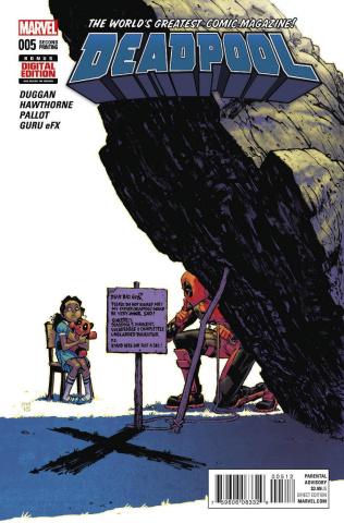 Deadpool #5 (Moore 2nd Printing)