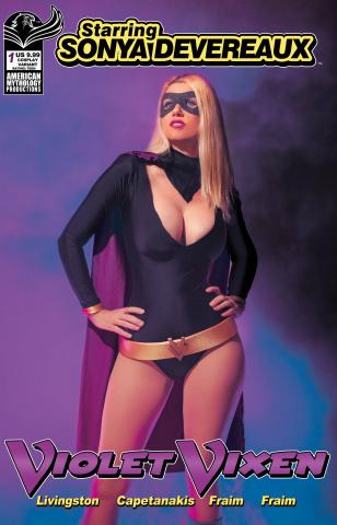 Starring Sonya Devereaux: Violet Vixen #1 (Cosplay Cover)