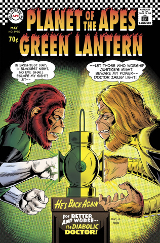 The Planet of the Apes / The Green Lantern #2 (10 Copy Rivoche Cover)