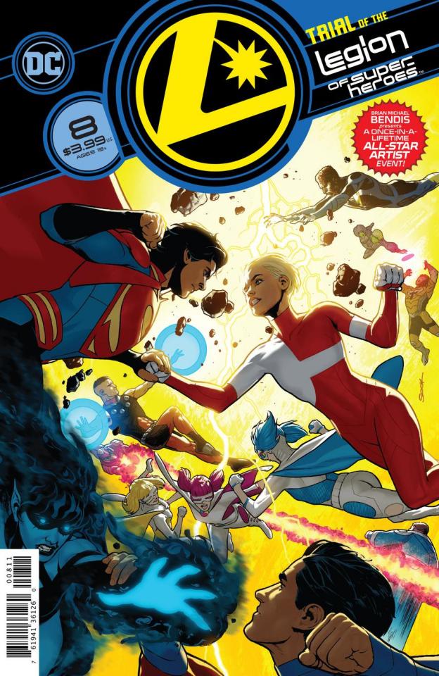 The Legion of Super Heroes #8 (Ryan Sook Cover)