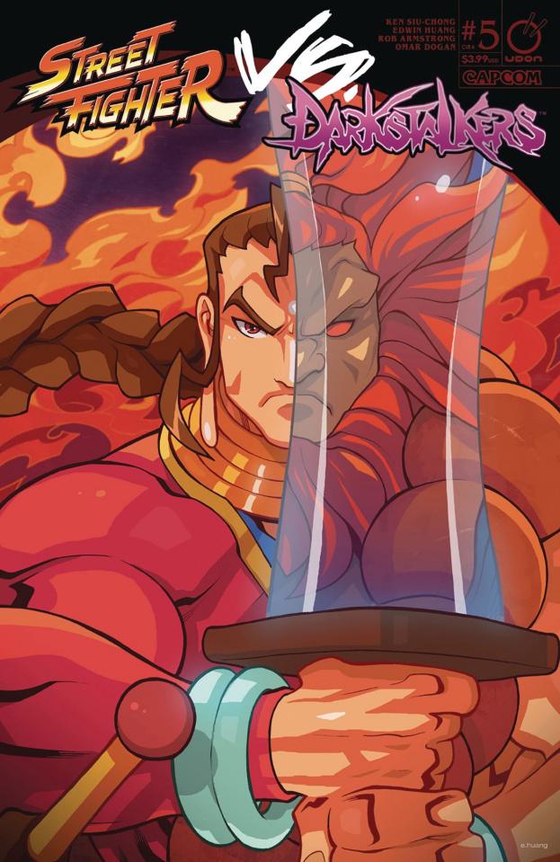 Street Fighter vs. Darkstalkers #5 (Huang Cover)