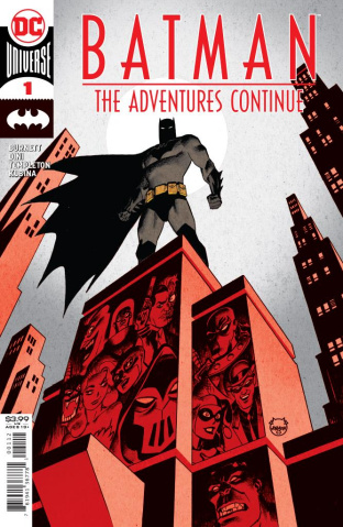 Batman: The Adventures Continue #1 (Dave Johnson Recolored 2nd Printing)