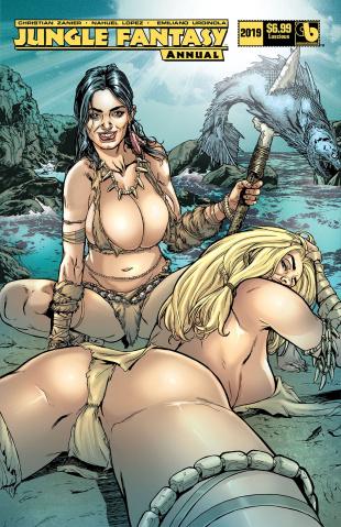 Jungle Fantasy Annual 2019 (Luscious Cover)