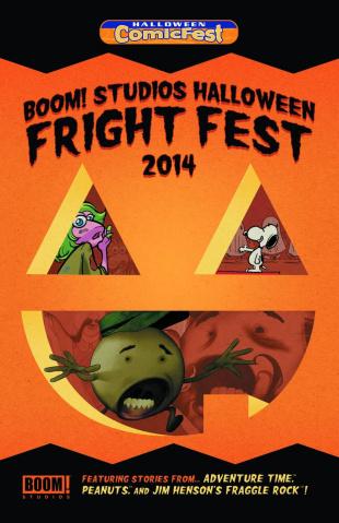 BOOM! Studios Halloween Fright Fest Halloween ComicFest 2014