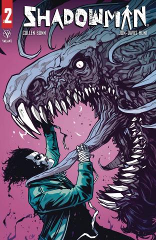 Shadowman #2 (Wijngaard Cover)