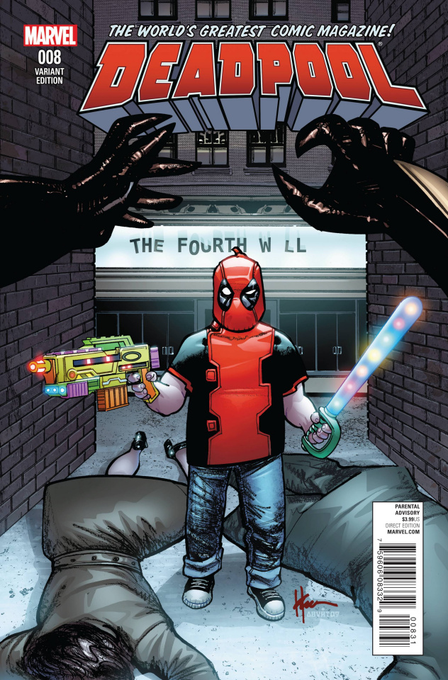 Deadpool #8 (Chaykin Classic Cover)