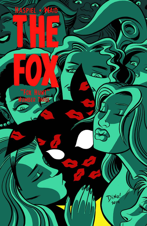 The Fox #3 (Haspiel Cover)