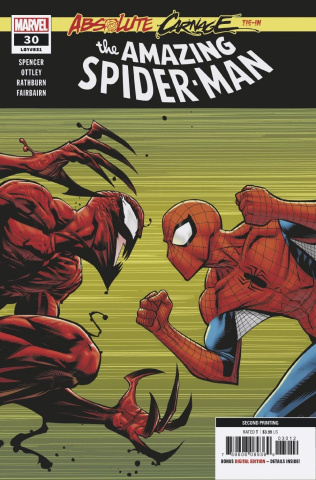 The Amazing Spider-Man #30 (Ottley 2nd Printing)