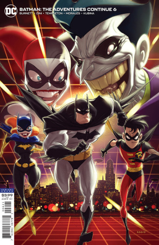Batman: The Adventures Continue #6 (Kaare Andrews Cover)
