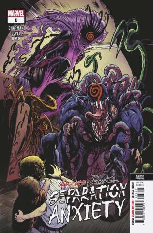 Absolute Carnage: Separation Anxiety #1 (Level 2nd Printing)