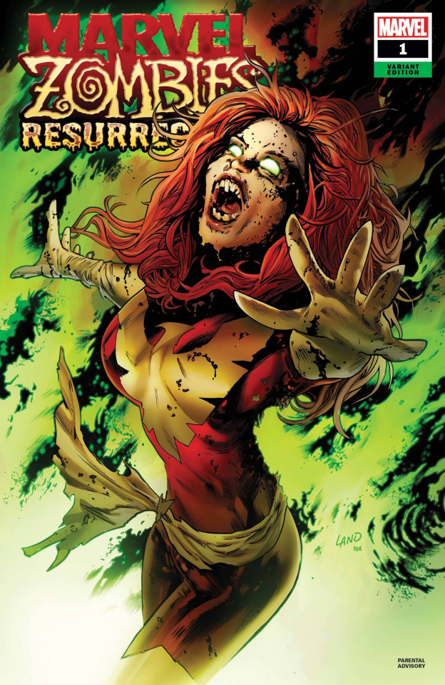 Marvel Zombies: Resurrection #1 (Land Cover)