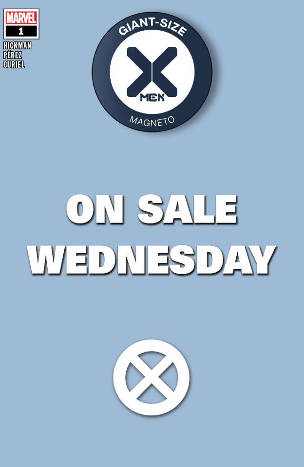 Giant-Size X-Men: Magneto #1 (Marvel Wednesday Cover)