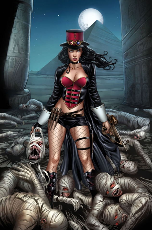 Grimm Fairy Tales: Van Helsing vs. The Mummy of Amun Ra #2 (Otero Cover)