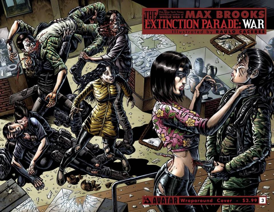 The Extinction Parade: War #3 (Wrap Cover)