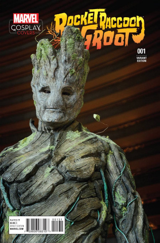 Rocket Raccoon and Groot #1 (Cosplay Cover)