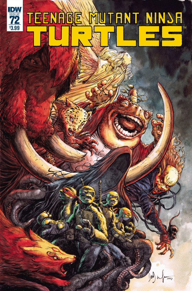 Teenage Mutant Ninja Turtles #72 (Wachter Cover)
