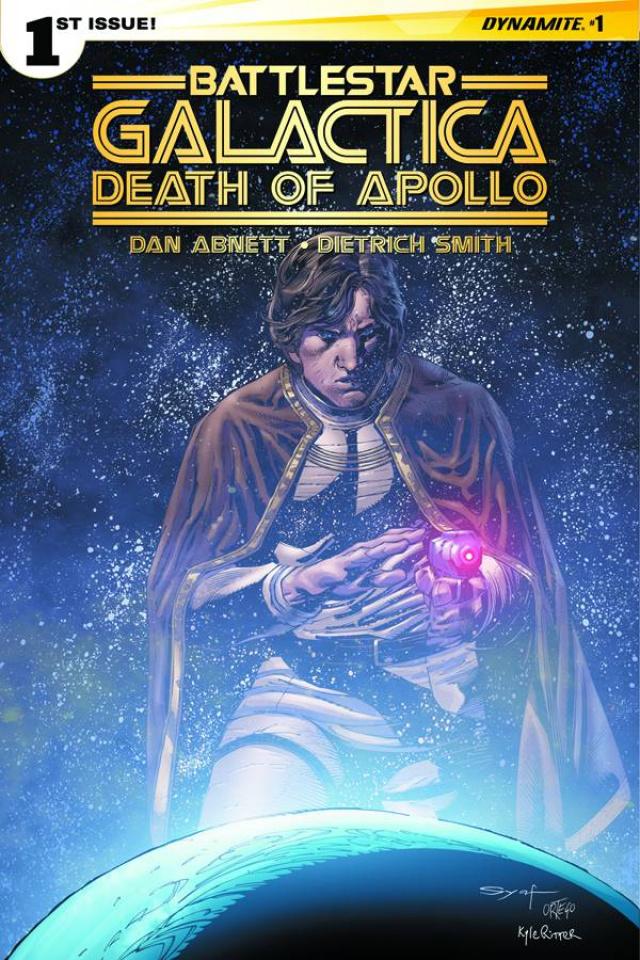 Battlestar Galactica: Death of Apollo #1 (Subscription Cover)