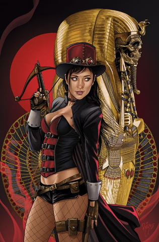 Grimm Fairy Tales: Van Helsing vs. The Mummy of Amun Ra #6 (Ruiz Cover)