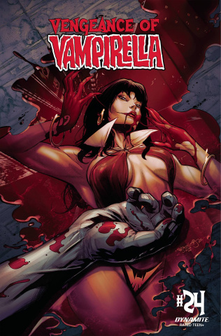 Vengeance of Vampirella #24 (Segovia Cover)