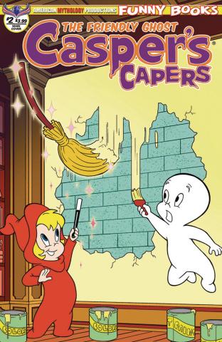 Casper's Capers #2 (Dela Cuesta Cover)