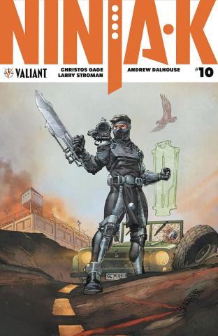 Ninja-K #10 (Camuncoli Cover)