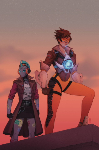 Overwatch: Tracer-London Calling #4 (Bartel Cover)