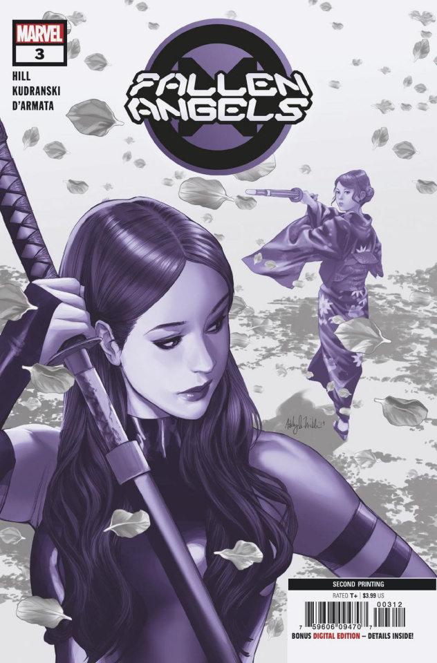 Fallen Angels #3 (Witter 2nd Printing)
