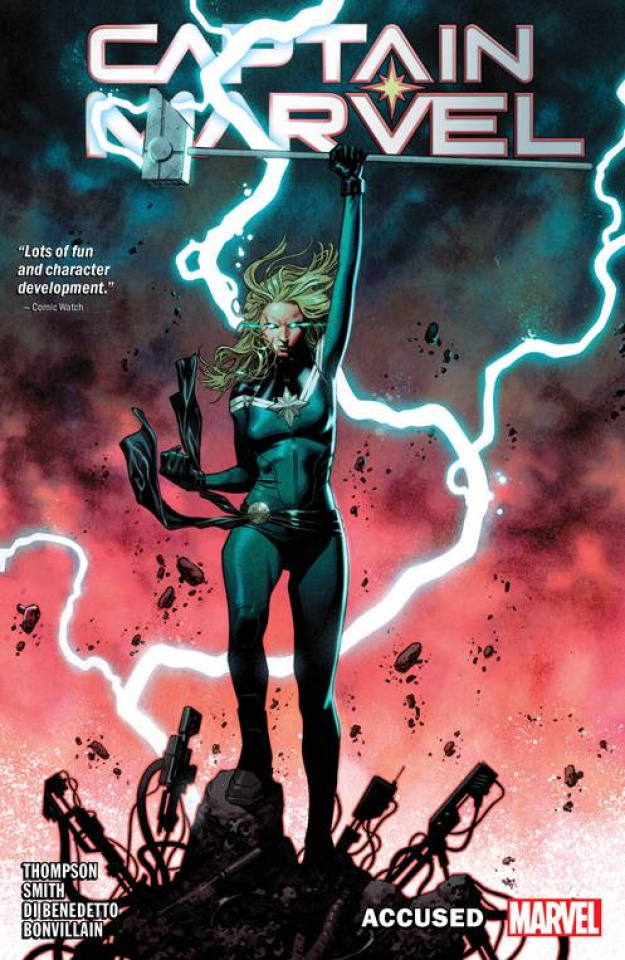 Captain Marvel Vol. 4: Accused