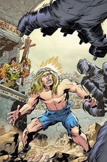 The Kamandi Challenge #1 (Giffen Cover)