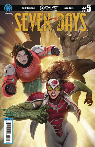 Catalyst Prime: Seven Days #5 (Sejic Cover)