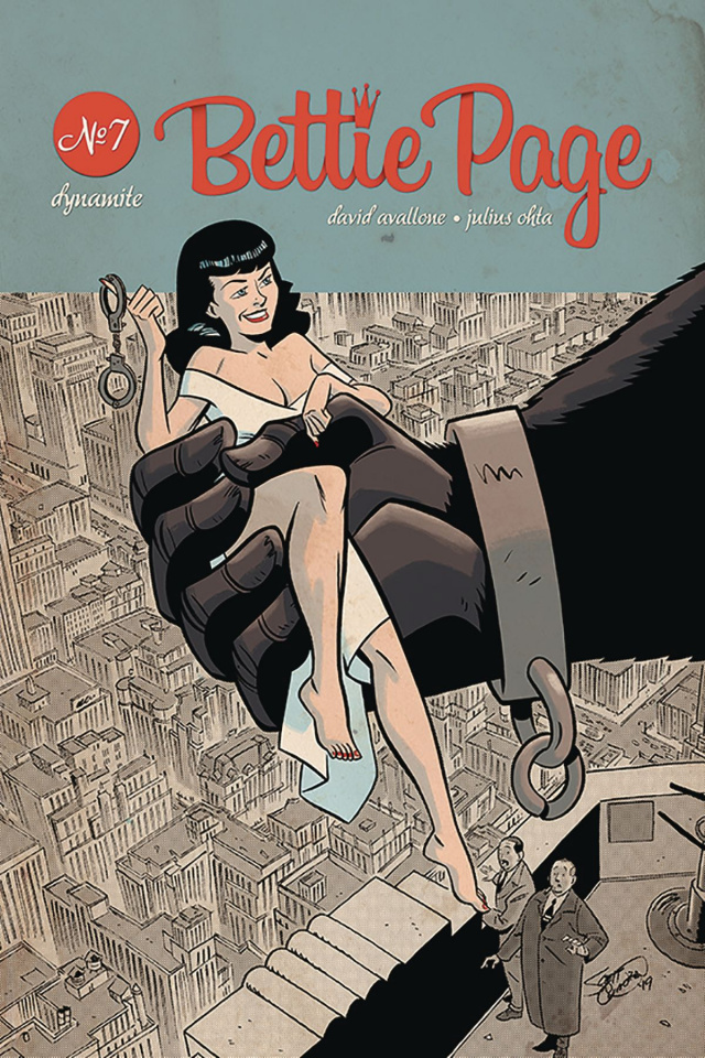 Bettie Page: Unbound #7 (Chantler Cover)